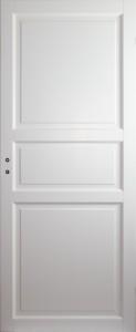 baltai dazytos vidaus durys 3F