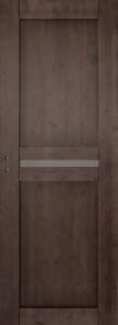 Rudai beicuotos eglinės vidaus durys modernios 1L